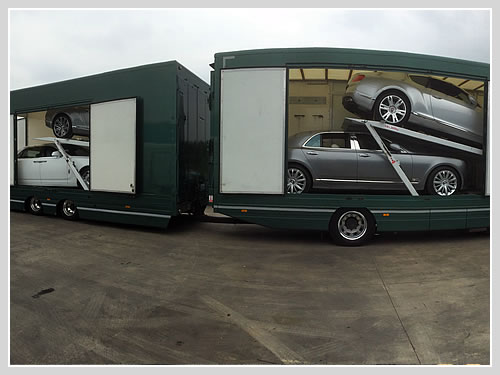 2 Car Enclosed Transporter