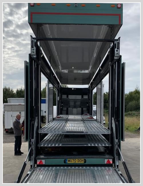 6 Car Enclosed Transporter